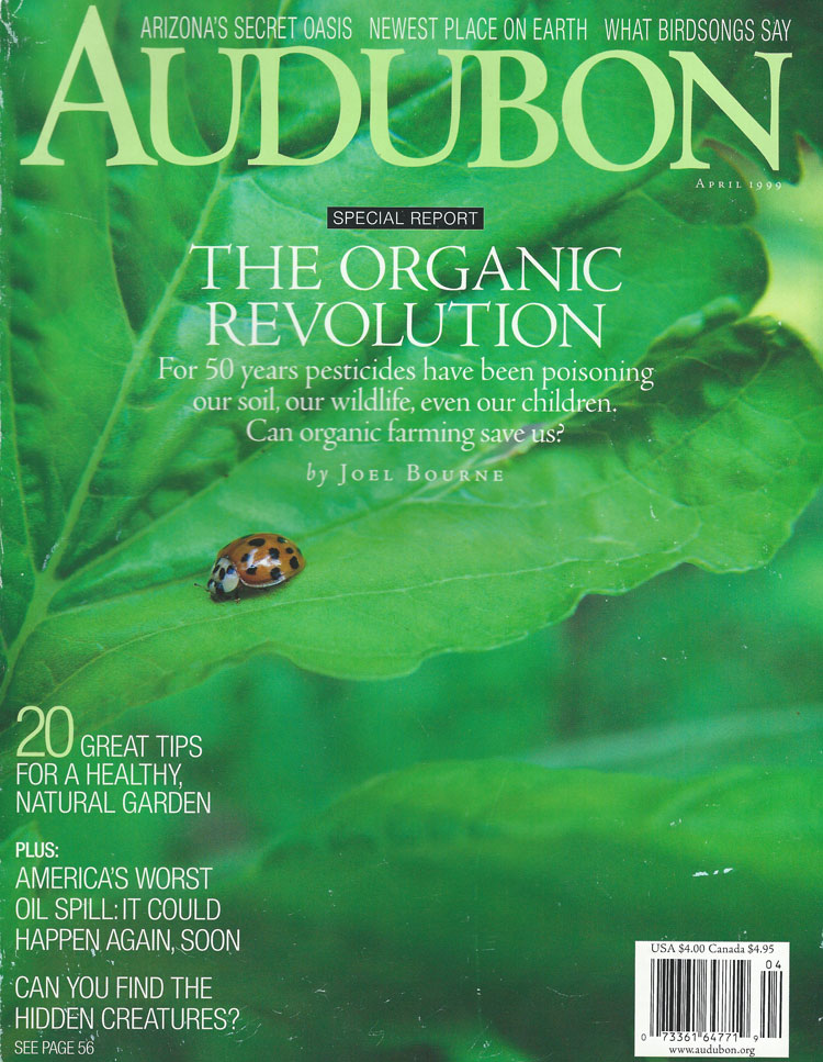 The Newest Place on Earth, Audubon, April 1999